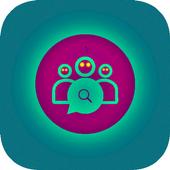 Friend Search For WhatsApp 2017 icon