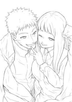 Drawing Anime Couple Ideas screenshot 4