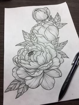 Flower Sketch screenshot 1