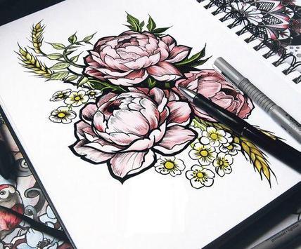 Flower Sketch screenshot 2