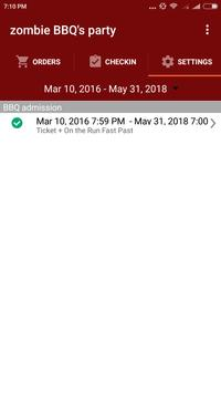 FEARTICKET Organizer apk screenshot