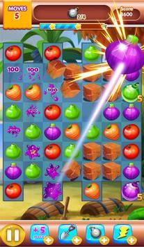 fruit jam match 3 poster