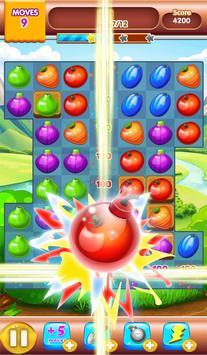 fruit jam match 3 screenshot 1