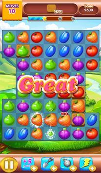fruit jam match 3 screenshot 2