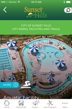 Sunset Hills Parks & Rec apk screenshot