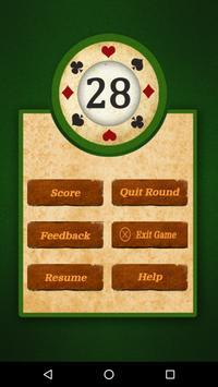 28 Card Game (Twenty Eight) apk screenshot