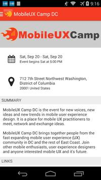 Mobile UXCamp 2014 screenshot 1