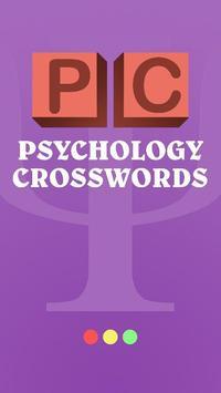 Psychology Crosswords poster