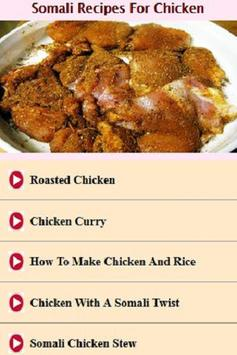 Somali Recipes for Chicken Videos poster