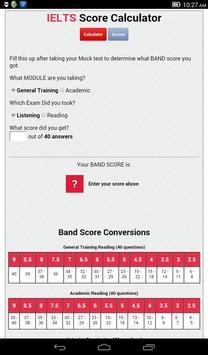 Pte Score Calculator