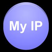 My IP address - Network tools icon