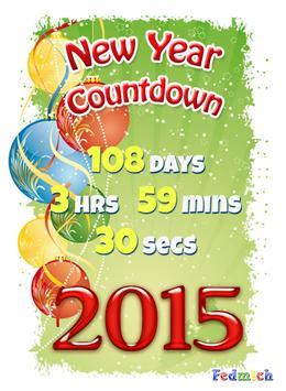 New Year Countdown screenshot 2