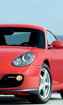 Wallpapers Porsche Cayman poster