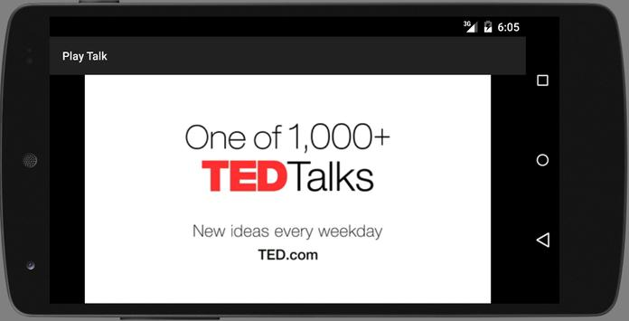 Player for TED Talks apk screenshot