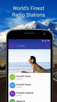 Coda Radio screenshot 1