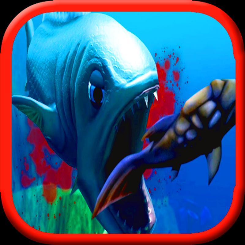 魚の弱肉強食3Dアクション Feed and Grow: Fish : フ …