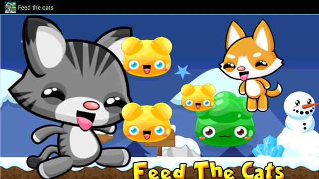 Feed the cats poster