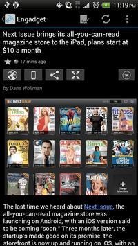 FeedR News Reader apk screenshot