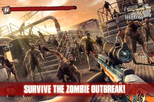 Zombie Frontier 3: 狙擊兵 FPS 海報