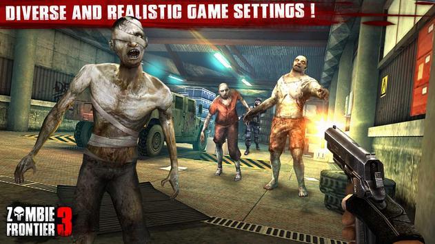 Zombie Frontier 3-Shoot Target apk screenshot