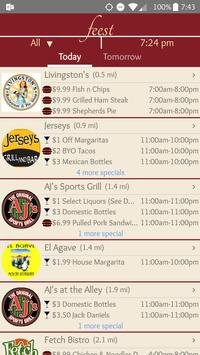 Feest - Food & Drink Specials poster