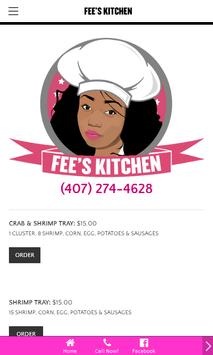 Fee's Kitchen apk screenshot
