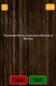 Karate TrueOrFalse screenshot 10