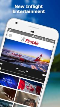 First Air IFE poster