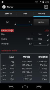 Myanmar Unit Converter apk screenshot