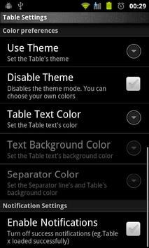 Multiplication Tables Legacy screenshot 3