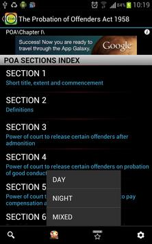 POA-Probation of Offenders Act poster