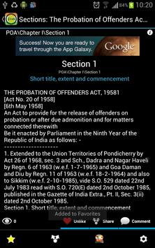 POA-Probation of Offenders Act apk screenshot