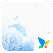 Dolphins 91 Launcher Theme icon