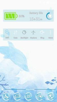 Dolphins 91 Launcher Theme poster