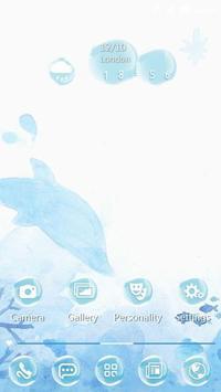 Dolphins 91 Launcher Theme apk screenshot
