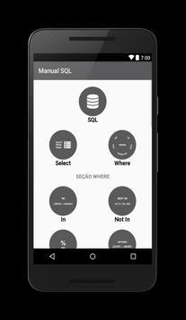 Manual SQL poster