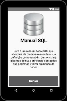 Manual SQL apk screenshot