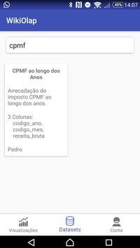 WikiOLAP Android apk screenshot