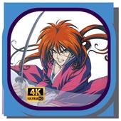HD Wallpaper Samurai X icon