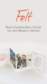 Felt: Birthday Cards, Greeting Cards & Thank You's poster