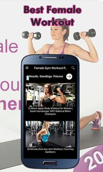 Female gym work out planner for Android - APK Download