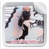 Feminine Hijab Fashion icon
