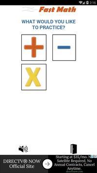 Fast Math poster