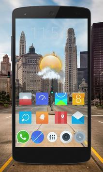 Transparent Phone Live Wallpaper apk screenshot