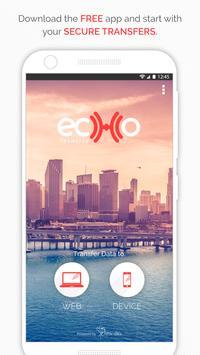 Echo Transfer by Fenix Data poster