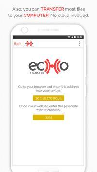 Echo Transfer by Fenix Data screenshot 2