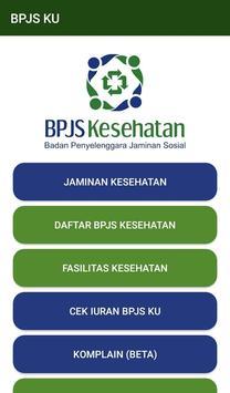 BPJS KU : Cek Iuran BPJS poster
