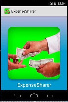 Expense Sharer poster