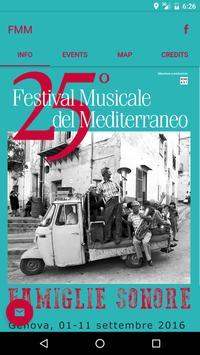 Festival del Mediterraneo poster