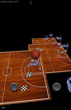 The Basketball and Coins apk screenshot